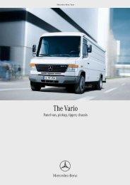 Vario brochure (PDF, 1564 KB) - Mercedes-Benz Brunei