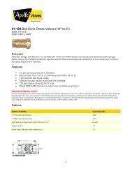 Technical Sheet - 61-100