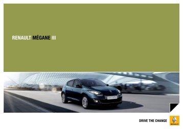 Megane III - Renault Argentina