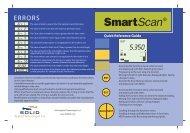 SmartScan QRG 4.fh11 - Solid Applied Technologies Ltd.