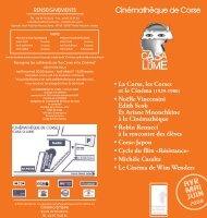 2008 avril mai juin - Cinémathèque de Corse