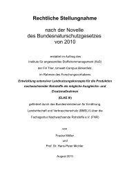 Rechtliche Stellungnahme nach der Novelle des ... - ELKE