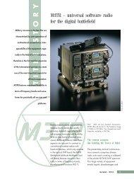 M3TR – universal software radio for the digital battlefield