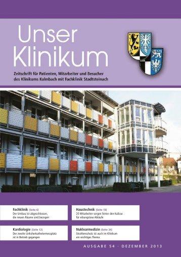fachklinik stadtsteinach - Klinikum Kulmbach