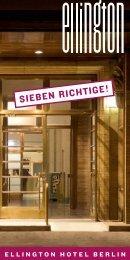 sieben richtige - Ellington Hotel Berlin