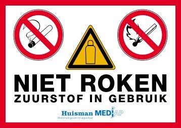 Veiligheidsinformatiekaart zuurstof - Huisman Mediap