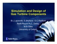 Simulation and Design of Gas Turbine Components - Autodiff.org