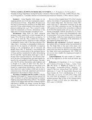 VENUS - Brown University Planetary Geosciences