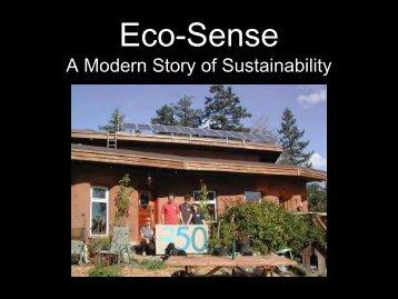 Eco-Sense A Modern Story of Sustainability - BC Sustainable ...