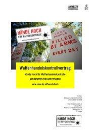 Waffenhandelskontrollvertrag - Amnesty International Österreich