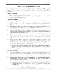 LEHI CITY PLANNING COMMISSION AGENDA