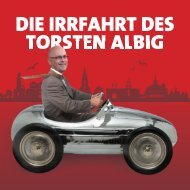 Flyer über Torsten Albig - Junge Union Schleswig-Holstein