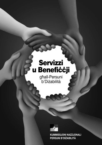 Servizzi u Benefiççji - National Commission Persons with Disability