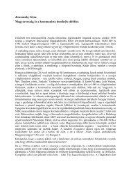Magyarország és a kommunista dominók eldőlése 156 KB ... - Grotius