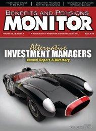 May - Benefits and Pensions Monitor