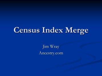 Census Index Merge