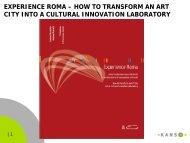 the experience roma project - Andrea Granelli
