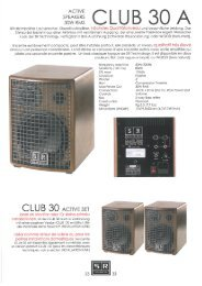 CLUB 30 A - SR Technology