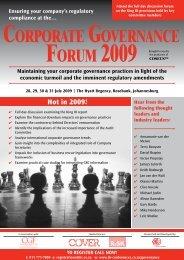 Corporate Governance Forum 2009.pdf - CRS Turnaround Management