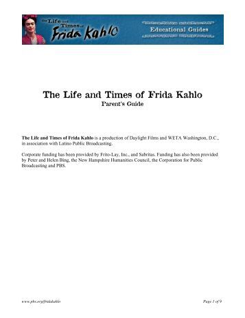 The Life and Times of Frida Kahlo - PBS