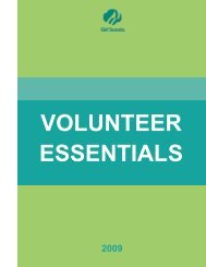Volunteer Essentials - Girl Scouts of Central and Southern New Jersey