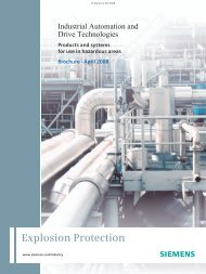Industrial Automation and Drive Technologies - Products ... - Siemens