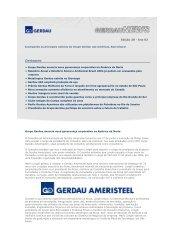 Destaques - Gerdau