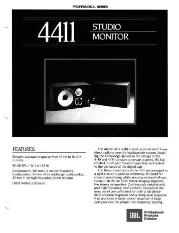 4411 - JBL Professional