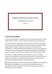 Progetto Alternanza Scuola/Lavoro - Istitutocardarelli.it