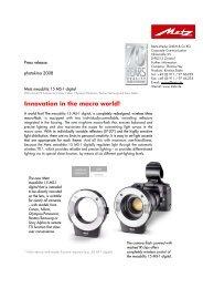 Innovation in the macro world! - Metz