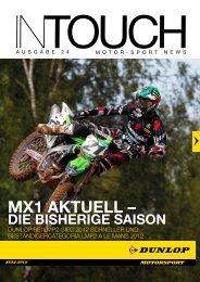 InTouch PDF - Dunlop Motorsport