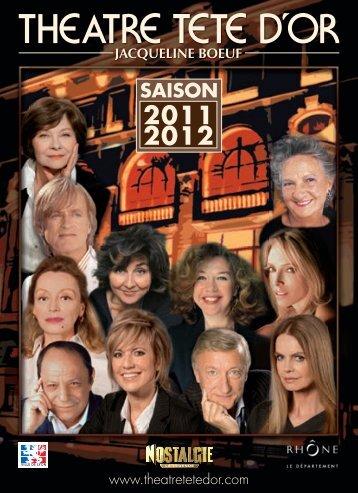 saison 2011/2012 - Théâtre Tête d'Or