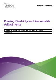 Proving disability and reasonable adjustments ed5 Oct 14