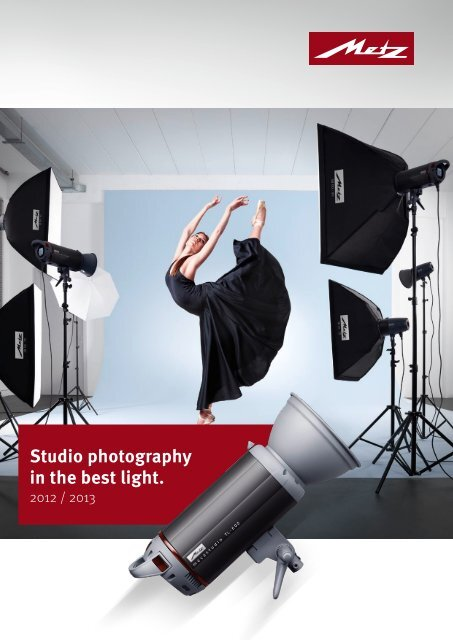 Studio photography in the best light. - Metz