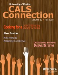Cooking for a Disease Detective - College of Agricultural and Life ...