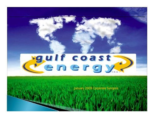 Biofuels - Mississippi Biomass and Renewable Energy Council