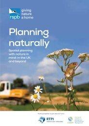 Planning naturally - RSPB