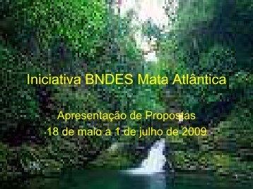 Iniciativa BNDES Mata Atlântica - SIGAM