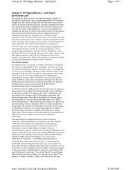 Page 1 of 9 Vatican II: Of Happy Memory - and Hope? 27/09/2012 ...