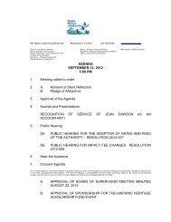 September 12, 2012 - Toho Water Authority