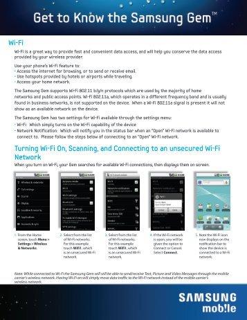 Using Wi-Fi - US Cellular