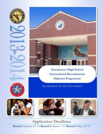 Application 2013-14 - Aldine Independent School District
