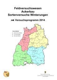 Sorten, Sortimente Winterungen 2014 - LTZ Augustenberg