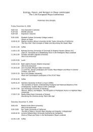 Programme for the Symposium - Wayeb