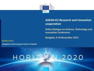 Dialogue with the EU