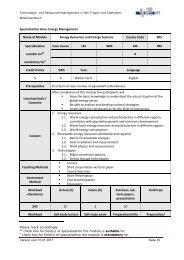 Specialization Area: Energy Management Name of ... - eVirtual UASLP