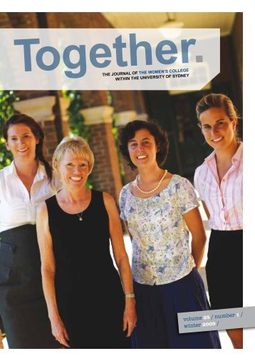 Winter 2009 EDITION - The Women's College