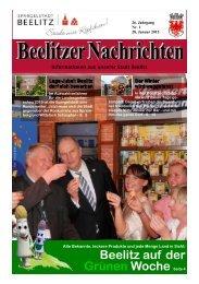 Beelitzer Nachrichten - Januar 2015