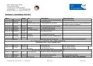 Terminplan 1. Schulhalbjahr 2010/2011 - CJD Bonn