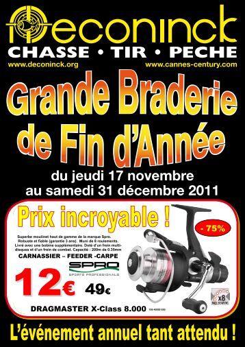 Catalogue 2011 Braderie Deconinck Ultimate Fishing - Team94
